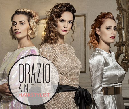 Candia Profumi, Gruppo Naïma profumeria a Roma Prati con Orazio Anelli Hairstylist