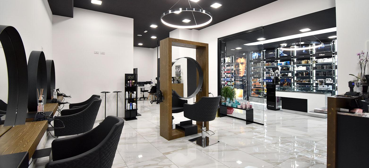 Hairstylist Orazio Anelli da Candia Profumi, Gruppo Naïma profumeria a Roma Prati