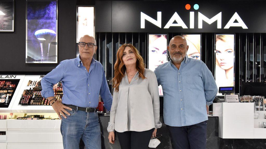 Candia Profumi, Gruppo Naïma profumeria a Roma Prati - lo staff